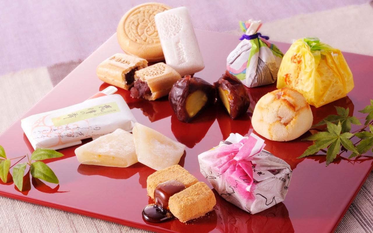 如水庵の和菓子