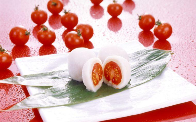 トマト大福