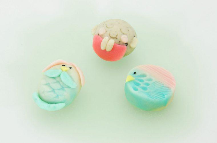 NHK「ロクいち!福岡」にて新商品アマビエ和菓子を取り上げて頂きました。